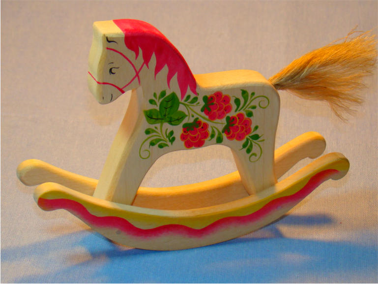 Роспись лошадок