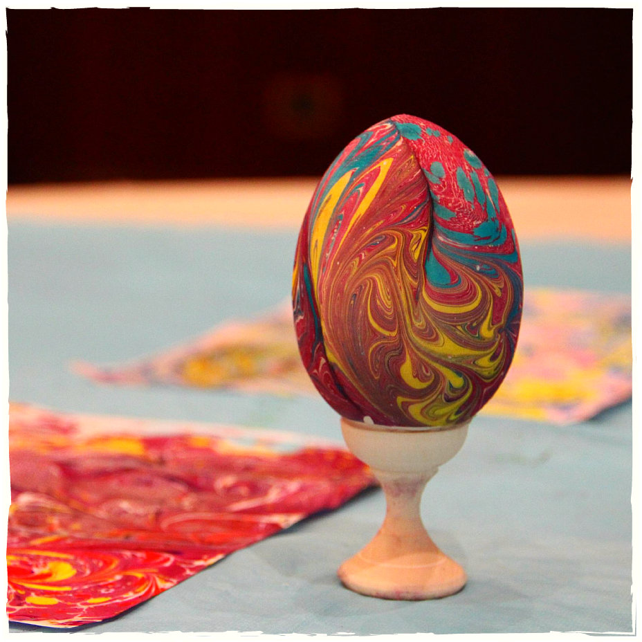 Пасхальные яйца Эбру