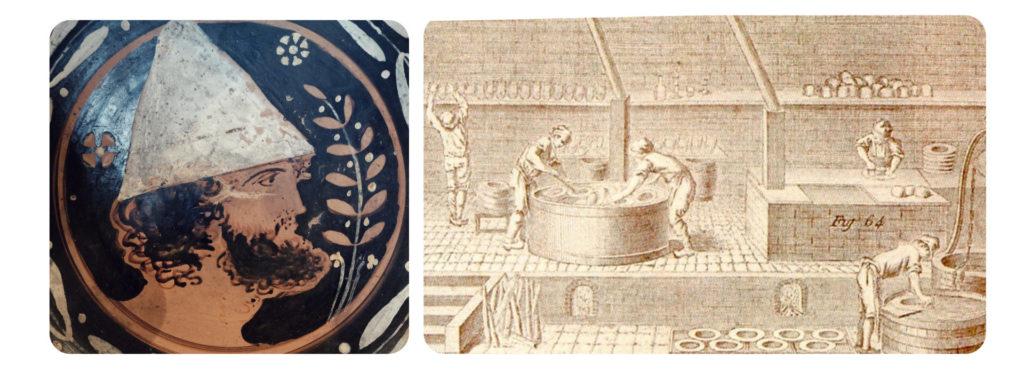Пилеус - греческая шляпа и античное производство войлока